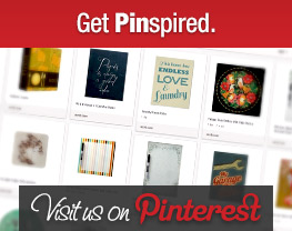 Get Pinspired. Visit us on Pinterest.