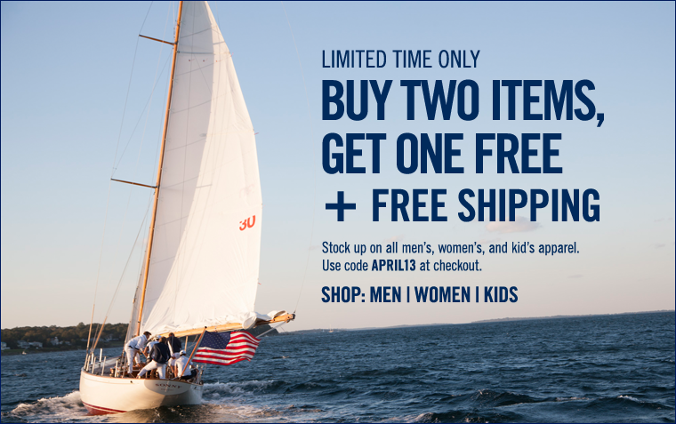 LIMITED TIME ONLY! Buy 2 items, get 1 FREE!