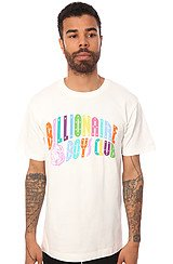 The Spectrum Arch Logo Tee in White
