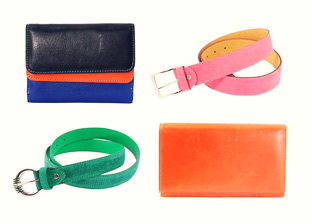 Genuine Leather Belts, Wallets & more from Italy