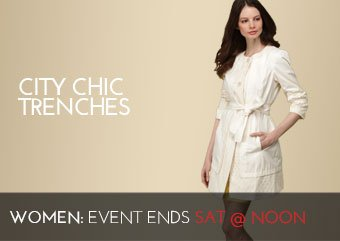 CITY CHIC TRENCHES
