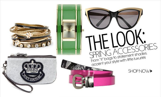 The Look Spring Accessories