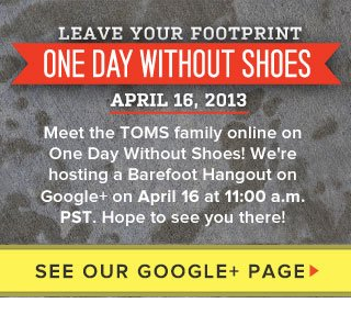 We're hosting a Barefoot Hangout on Google+