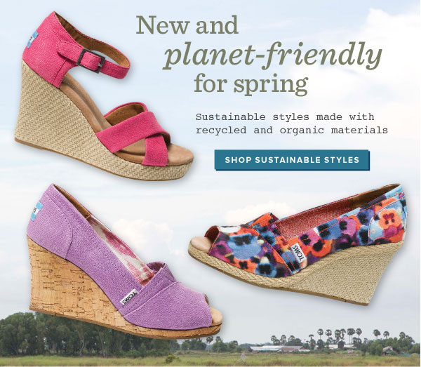 New and planet-friendly for spring - Shop sustainable styles