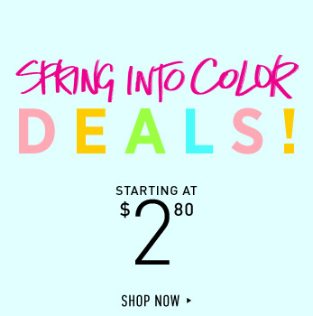 Spring Deals! - Shop Now