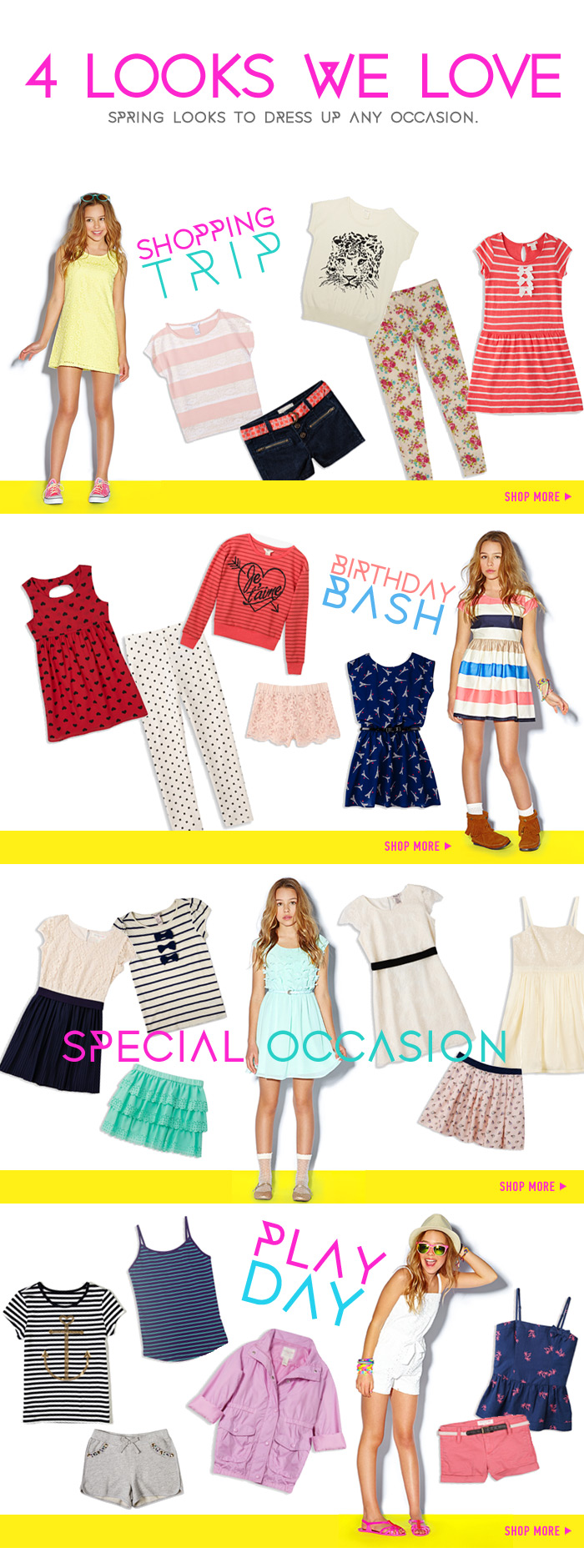 Just In! Shop New Spring Looks for Girls! - Shop Now
