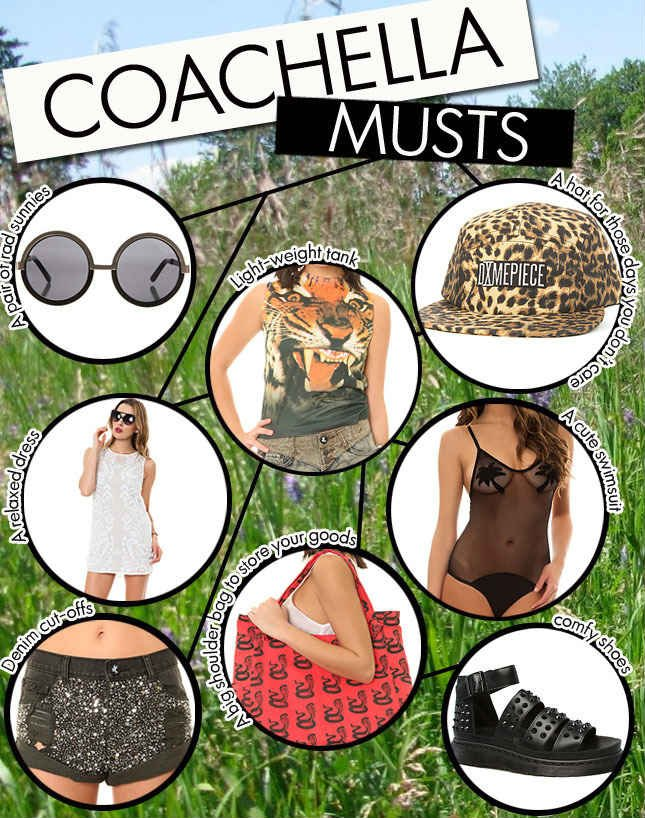 Are you ready for Coachella? Check out the festival picks from Miss KL!