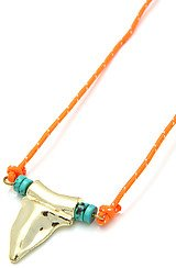 The Shark Tooth Rope Necklace