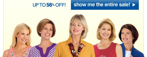 no matter your style, this sale is a smile - pick your style - just $10.99 each!