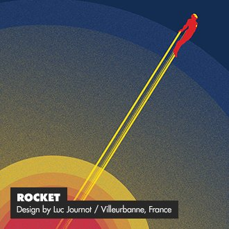 Rocket - Design by Luc Journot / Villeurbanne, France