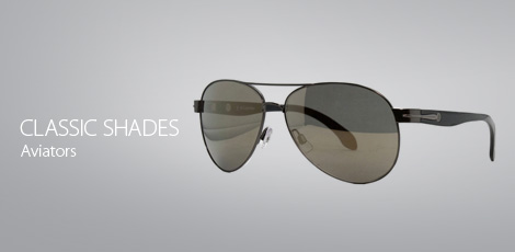 Classic shades: aviators