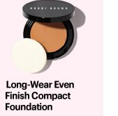 LONG–WEAR EVEN FINISH COMPACT FOUNDATION, $46.00