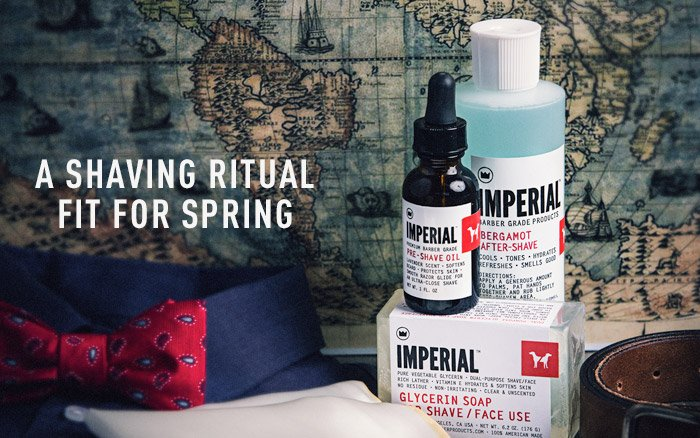 A Shaving Ritual Fit For Spring
