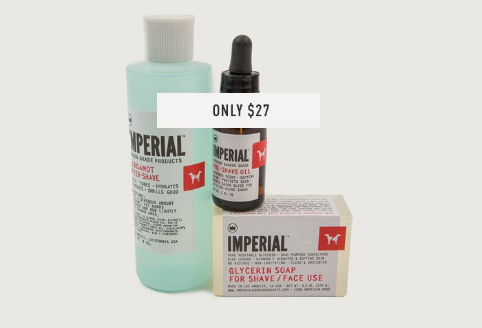 F&O Imperial Combo Package - Only $27