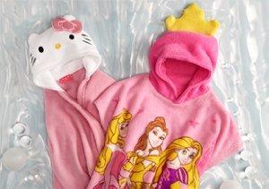 Hello Kitty, Princess & Minnie: Girls' Cuddly Wraps