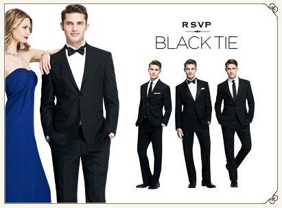 Dress Code - Black Tie