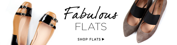 Fabulous Flats. Shop Flats