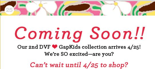 It's Here!! | Can't wait until 4/25 to shop?