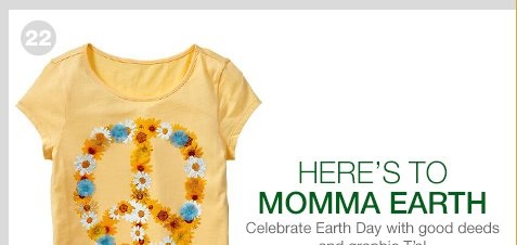 HERE'S TO MOMMA EARTH