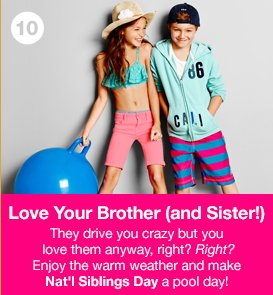 Love Your Brother (and Sister!)