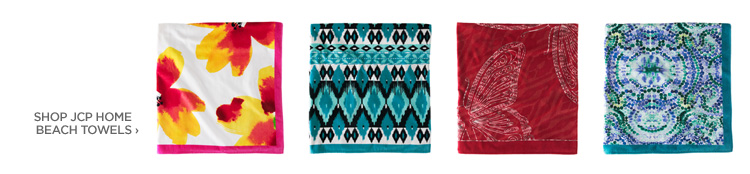 SHOP JCP HOME BEACH TOWELS›