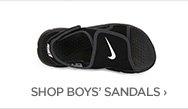 SHOP BOYS' SANDALS›