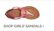 SHOP GIRLS' SANDALS›