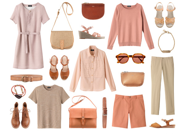 A.P.C. ROSY BEIGE