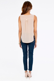 Jewel Tab Tank Top $32