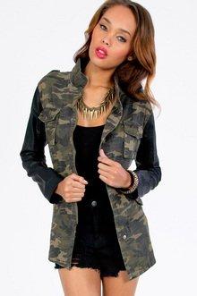 M.I.A. Contrast Jacket $53