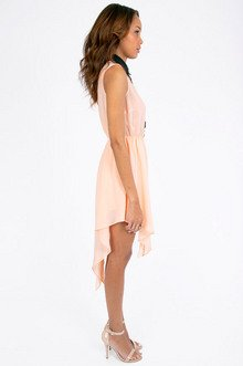 Lace Trim Tank Dress $33
