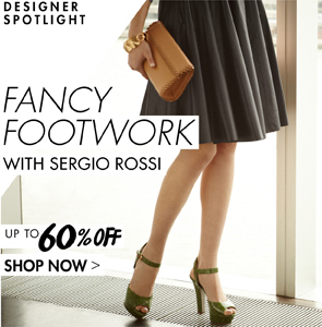 Sergio Rossi up to 65% off