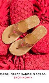 Masquerade Sandals - $59.00 - Shop Now
