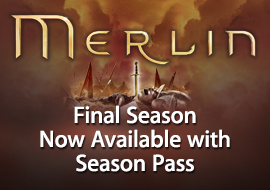 Merlin - Final Season Now Available with Season Pass