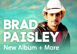 Brad Paisley - New Album + More