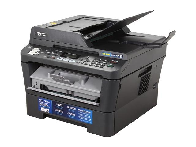 brother MFC-7460DN All-In-One Up to 27 ppm Monochrome Laser Printer with Networking and Duplex Printing