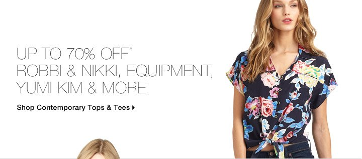 Up To 70% Off* Robbi & Nikki, Equipment, Yumi Kim & More