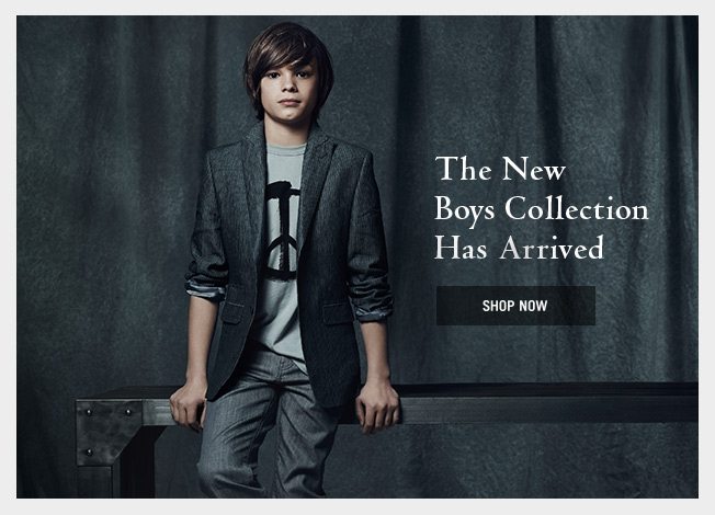 The New Boy's Collection Has Arrived
