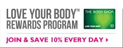 Love Your Body Rewards Program -- Join and save 10% every day