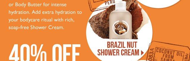 BRAZIL NUT SHOWER CREAM