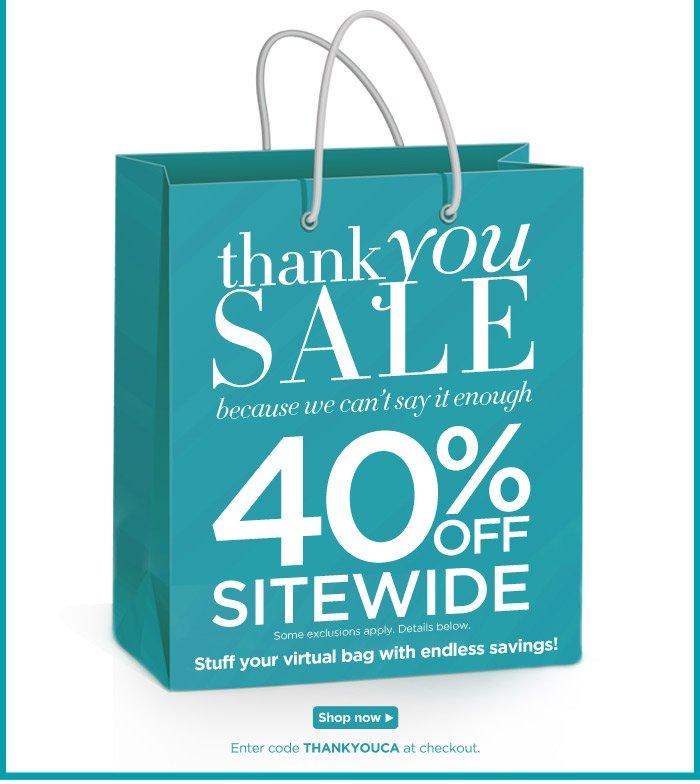 Stuff Your Virtual bag with savings