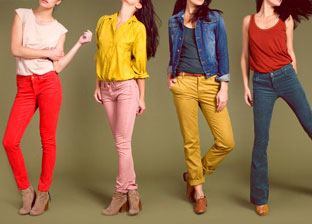 Colorful French Denim by Ros'W