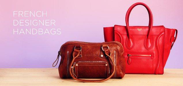 French Designer Handbags: Christian Dior, Givenchy, Longchamp & More