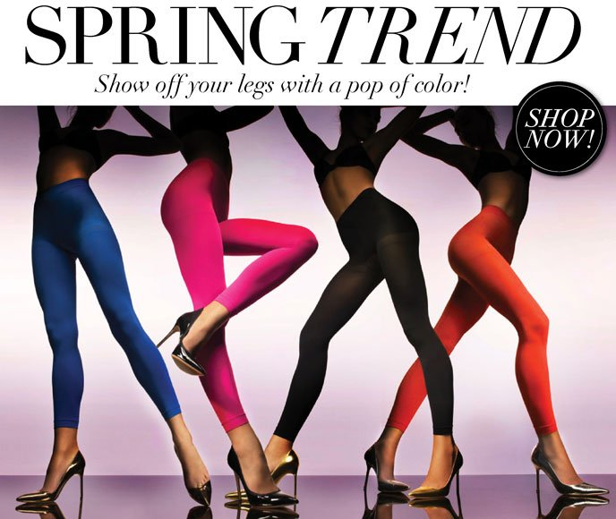 Spring Trend - Show Off Your Legs with a Pop of Color!