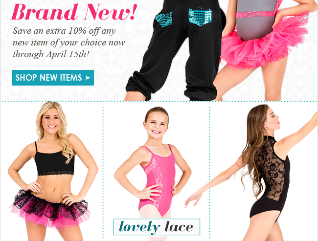 See what's new in dancewear.