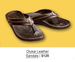 Olukai Leather Sandals | $129