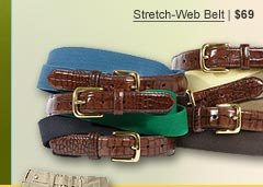 Stretch-Web Belt | $69