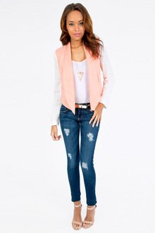 Color Bind Blazer $36