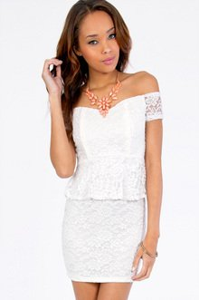 Magnolia Peplum Dress $28