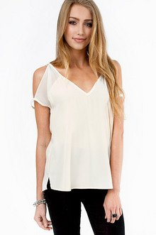 Fleeting V-Neck Blouse $26
